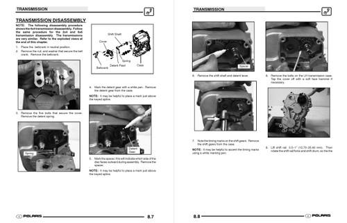 Polaris 2004 Ranger 500 4x4 Service Manual