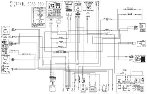 Polaris 2012 Scrambler 500 H.O. 4x4 Service Manual