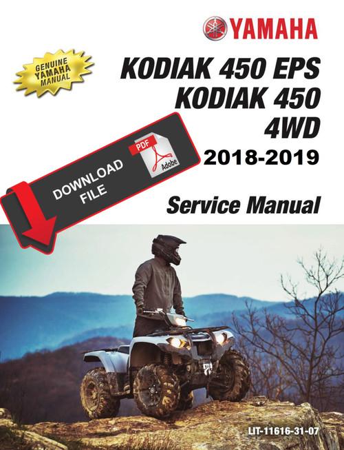 Yamaha Yfm400 Kodiak 400 Manual
