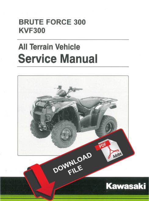 Kawasaki 2014 Brute Force 300 Service Manual