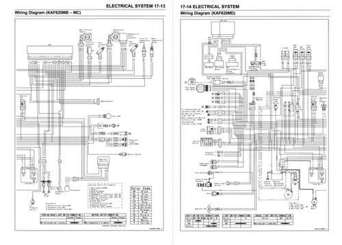 kawasaki 2014 mule 4010 4x4 service manual  service manual warehouse