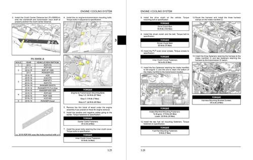 Polaris 2017 RZR 900 ATV Service Manual