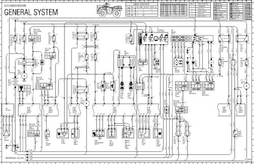 canam 2012 outlander 650 xt service manual
