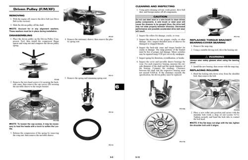 Arctic Cat 2013 ProCross F800 Sno Pro Service Manual