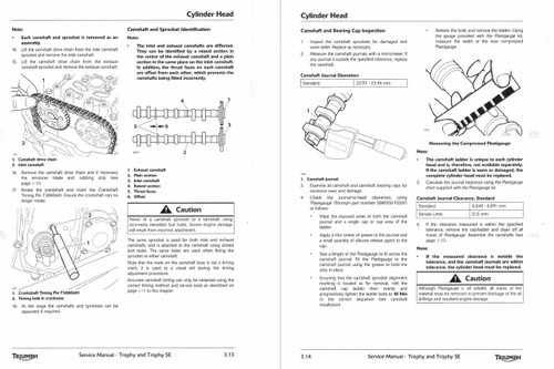 2013 Triumph Trophy Service Manual
