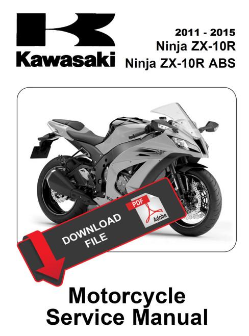Kawasaki 2016 Ninja Zx 10r Abs Service Manual