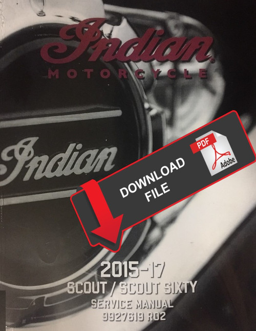 Indian Scout 2017 Service Manual
