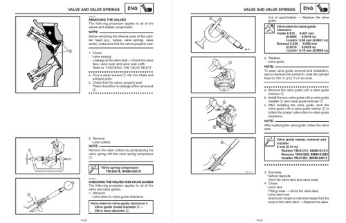 Yamaha 2004 V-Star 1100 Classic Service Manual