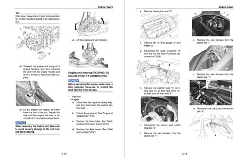 Yamaha 2019 Waverunner FX Cruiser SVHO Service Manual