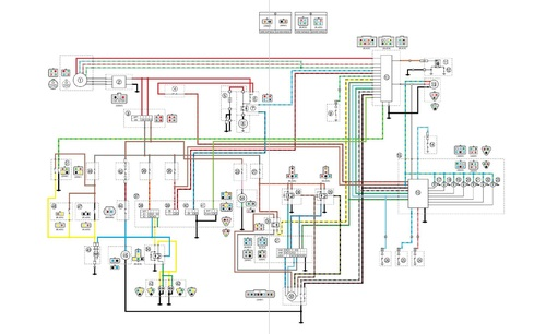 yamaha grizzly 450 wiring diagram  pietrodavicoit series