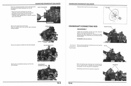Honda 2006 FSC600 Silver Wing Scooters Service Manual