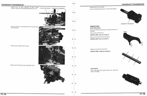 Honda 2005 Vtx 1300 Service Manual
