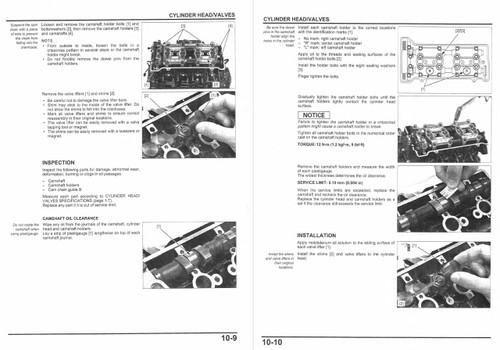 Honda 2015 CBR600RR Service Manual