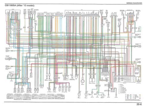 Honda 2014 CB1100 Service Manual