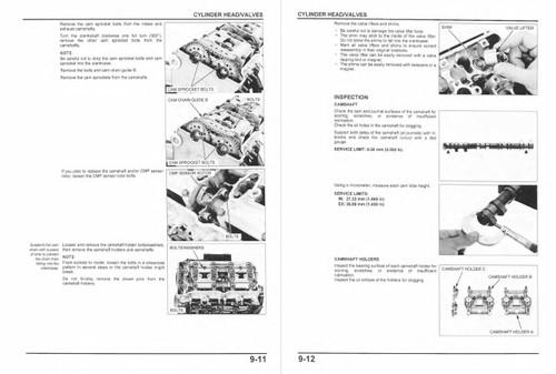 Honda 2010 CBR1000RR Service Manual