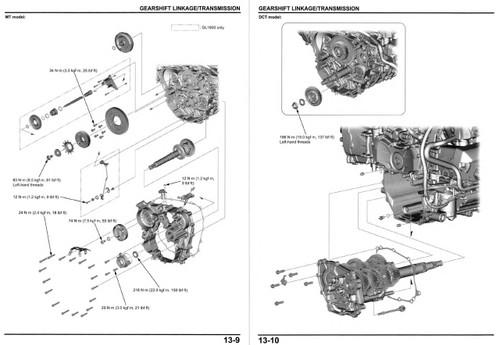 Honda 2019 Goldwing 1800 Service Manual