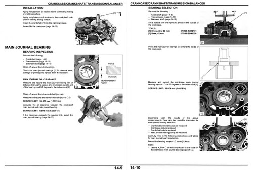 Honda 2019 CRF250L Service Manual