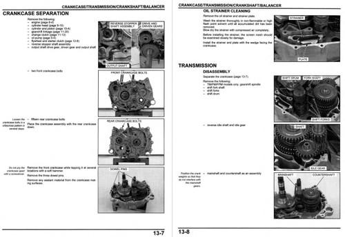 Honda rancher repair manual