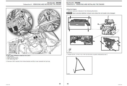 Can-Am 2015 Spyder F3 Service Manual