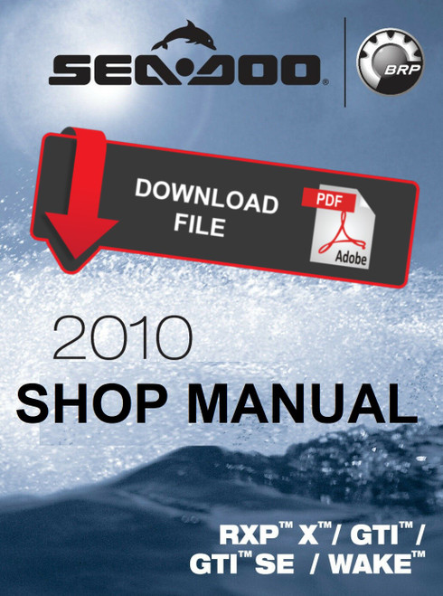 Sea Doo 2008 Rxp X Rs 255 Jetski Personal Watercraft Service Manual