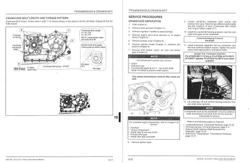Victory 2013 Vision Service Manual