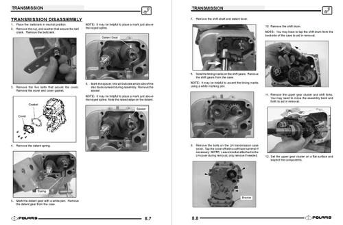 Polaris 2006 Ranger XP 4x4 Service Manual