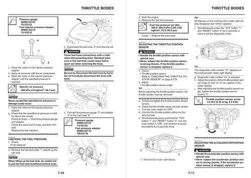 Yamaha 2014 FJR1300 Service Manual