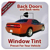Ceramic Precut Back Door Tint for Acura EL Canada Only 1997-2000