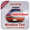 2 Ply Pro+ Precut Back Door Tint for Acura EL Only 1997-2000