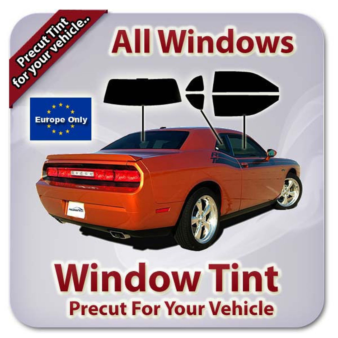 Mitsubishi pajero lwb 2000-2009 pre cut window tint//front windows
