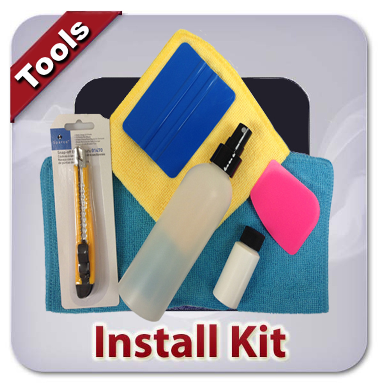 Window Tint Installation Kit