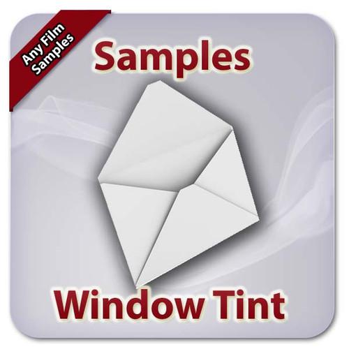 WIndow Tint Samples