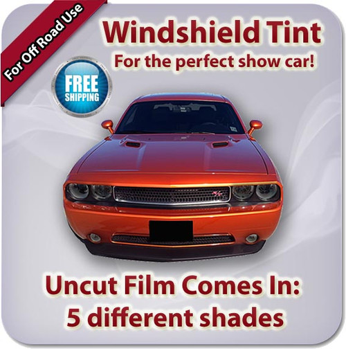 Front Windshield Film - Comes in 5 Different Shades (Off Road Only)