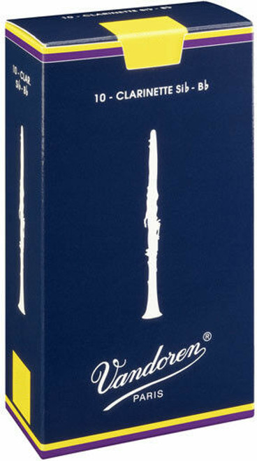Vandoren Traditional Bb Clarinet Reeds 10pk