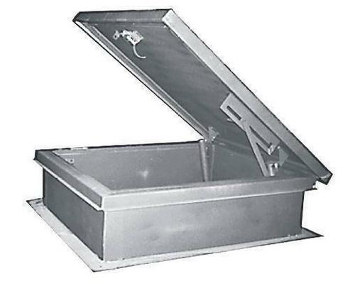 MIFAB USA 24 x 24 Aluminum Roof Hatch - MIFAB