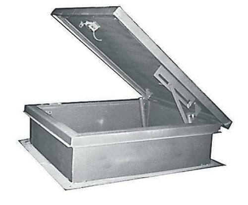 MIFAB USA 30 x 30 Aluminum Roof Hatch - MIFAB