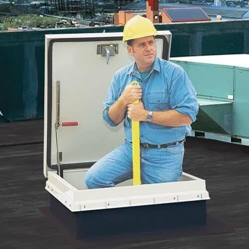 Bilco Stainless Steel Ladder Up Safety Post - Bilco