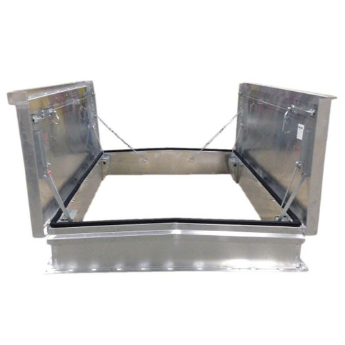 Milcor 72 x 132 Galvanized Steel Equipment Access - Milcor