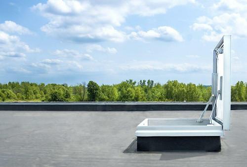 Milcor 36 x 36 Galvanized Steel Energy Efficient Series - Milcor