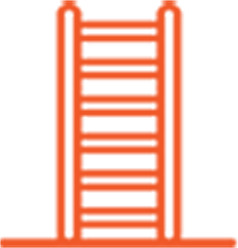 Service Stair provides safe and convenient access.