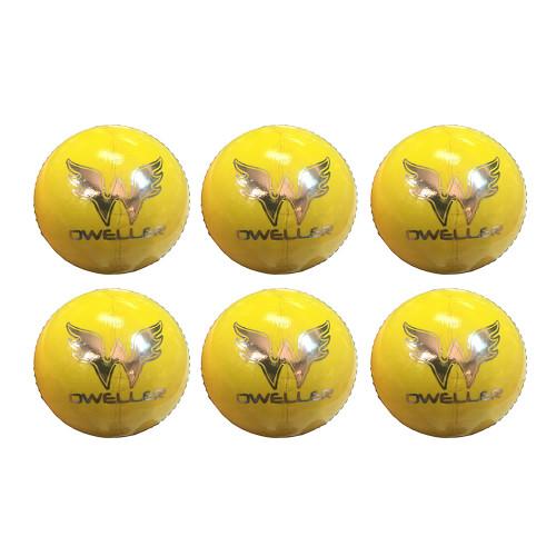 Dweller Championship Cricket Balls Yellow