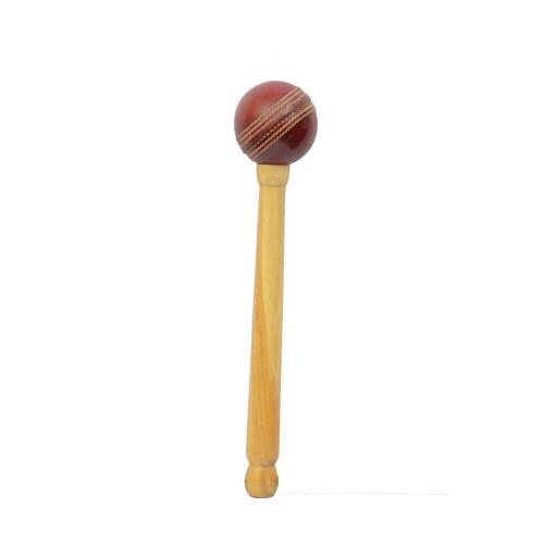 Bat Mallet with Cricket Ball