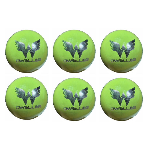Dweller Championship Cricket Balls Yellow-Green