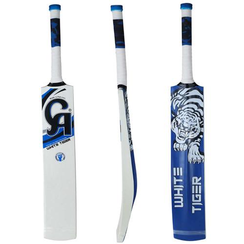 CA White Tiger Tape Ball Cricket Bat