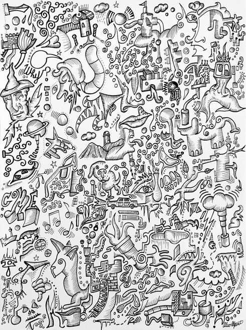 """Mind Design 1"" Print"