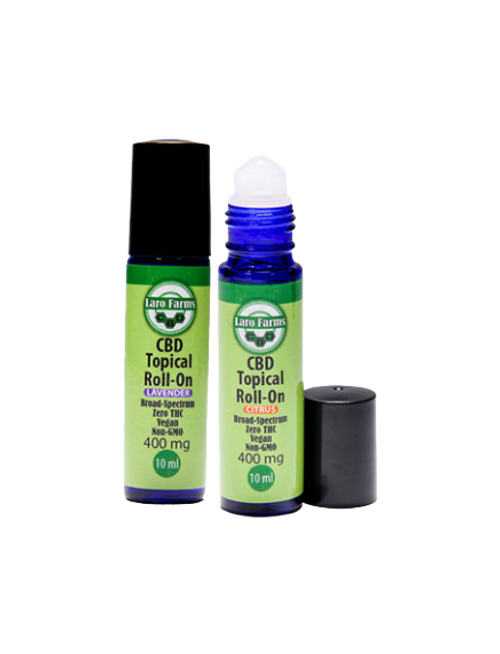 12 Pack - 400mg Topical Roll On
