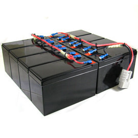 Amstron Replacement Backup Battery for APC RBC12 - High Capacity
