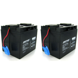 Amstron Replacement Backup Battery for APC RBC55 (Blue Connector)