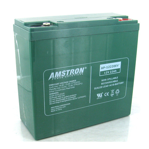 Amstron 12V / 22Ah Electric Vehicle VRLA Battery - R Terminal