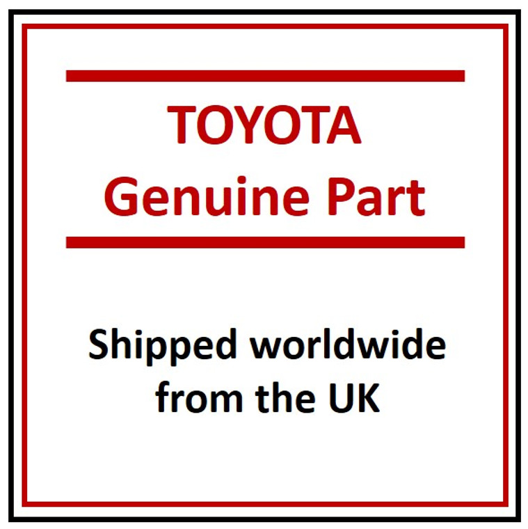 Original, genuine, new, discounted Genuine Toyota CONVERTER SUB A 2505133110 from toyotaoriginal.com. This part is shipped worldwide from the UK. Email mike@endonservices.co.uk for more detail.